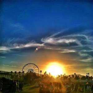 Pic of Coachella by Simon Rex/Dirt Nasty @SimonRex415/Instagram